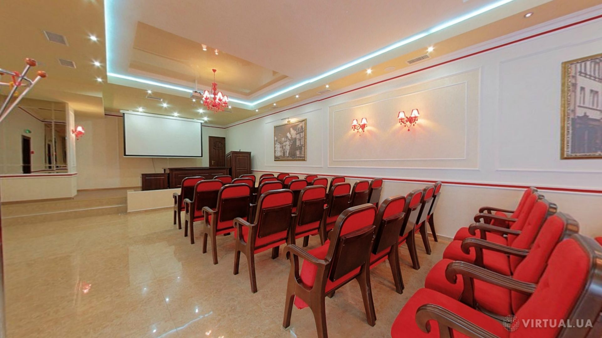 Conference halls in hotel «Lviv», photo